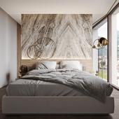 Гостевая спальня в Швейцарии