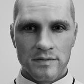 3д портрет мужчины