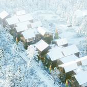 ....apartments, winter....