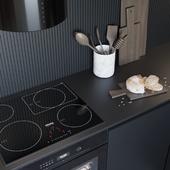 Black Matte Kitchen