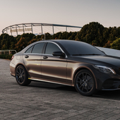 Mercedes Benz /// CGi (сделано по референсу)