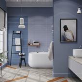 Летняя ванная комната