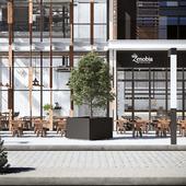 Industrial Restaurant Zenobia – Dubai.
