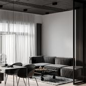 Concrete apartment