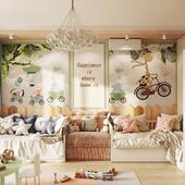 Дизайн-интерьера детской