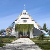 Pyramid house concept