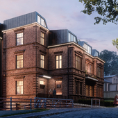 Apartment residence architectural CGI