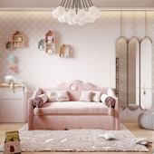 Визуализации детской для Novikova Design, г. Белогород