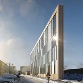 Tingbjerg library Copenhagen