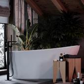OpenSpace спальня с ванной