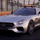 Mercedes-Benz AMG GTS safety car