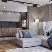 Дизайн и визуализация квартиры в Киеве