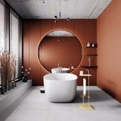 Ванная комната (сделано по референсу)