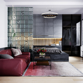 Modern Living-BedRoom