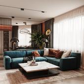 AP|Krylatskiye Kholmy: Kitchen-living room and holl
