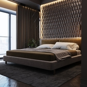 Гостевая спальня.