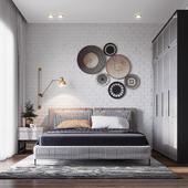 Bedroom in Chalet