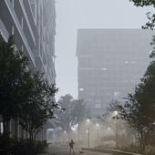 Creteil housing scheme in Paris, France