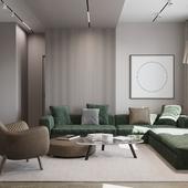 Living/dinning/bedroom