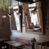 Аргентинский ресторан (сделано по референсу)