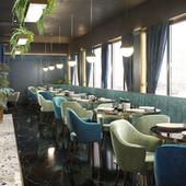 Проекта интерьеров ресторана в г. Нальчик