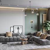 Ap Tolstogo - Living room