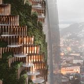 Skyscraper in Quito