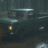 Ford F100 Pickup GameArt