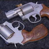 "357 Magnum 2.5"" Barrel 7 Rounds Wood Grip"