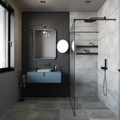 GREY&BLUE BATHROOM CONCEPT