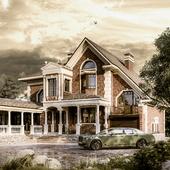 Реконструкция фасадов существующего дома