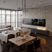 Visualization of loft interior