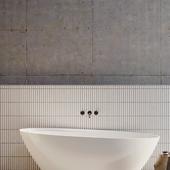 Sketch BATHROOM IN CONCRETE HOUSE