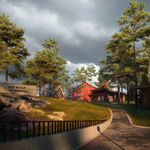 Visualizaion of the boy scout camp