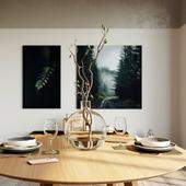 Dining room (сделано по референсу)