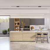 """""""ALEA"""" kitchen for INSTYLE company"""