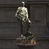 Скульптура путейца