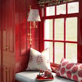 Red window (сделано по референсу)