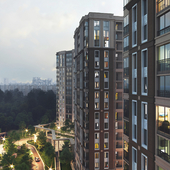 Residential complex in Moscow