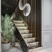 Luxury entrance hall.
