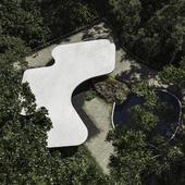 CGI: Casa das Canoas. Oscar Niemeyer