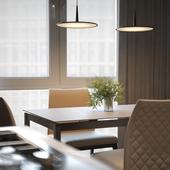 Проект дизайна интерьеров квартиры в г. Нальчик (ЖК EsferaCity)