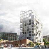 30 единиц социального жилья в Нанте (Сделано по референсу)