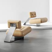 OSCAR NIEMEYER 'Aran' lounge chair 1975 (сделано по референсу)