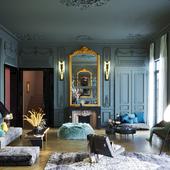 Апартаменты декоратора Лоуренса Симончини (выполнено по референсу)