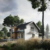 Дом в горах