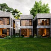 Modular house (Reference)(сделано по референсу)