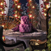CGI Lilac Cake 3D