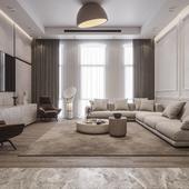 Living Room in Dubai