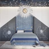 BOY'S BEDROOM: NIGHT SKY